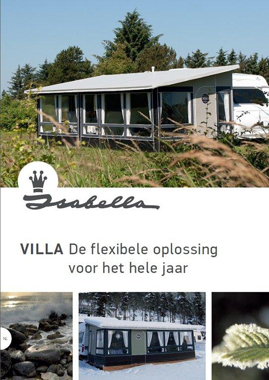 Villa vaste voortent | Linberg